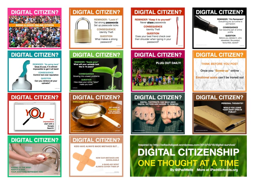 Thinking Digital Citizenship-iPadWells