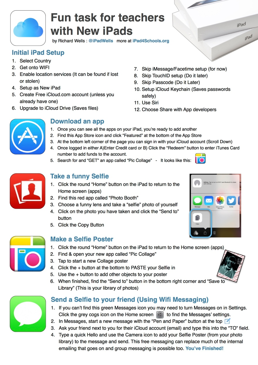 iPad handout PD-iPadWells