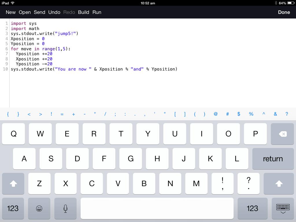 Coding on iPads – Beginner to Pro
