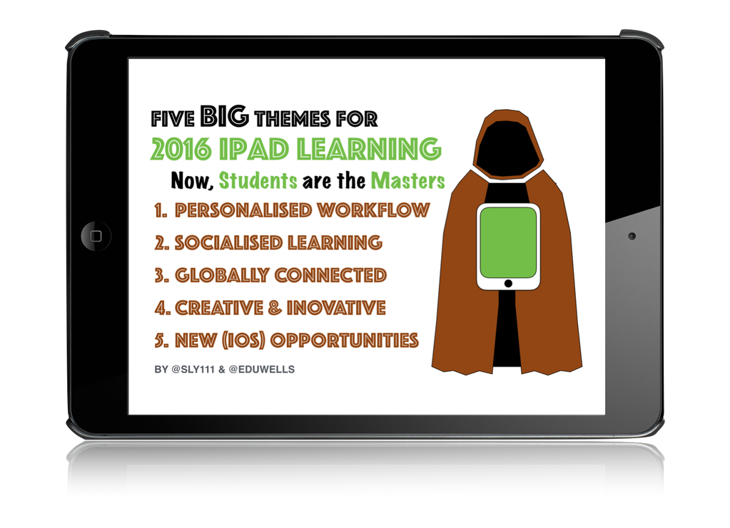 5 BIG Themes for 2016 iPad Learning